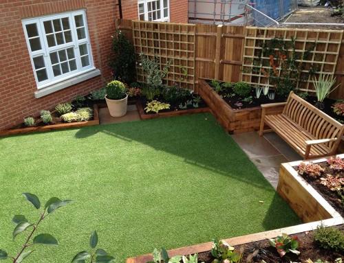 Linden Homes show garden